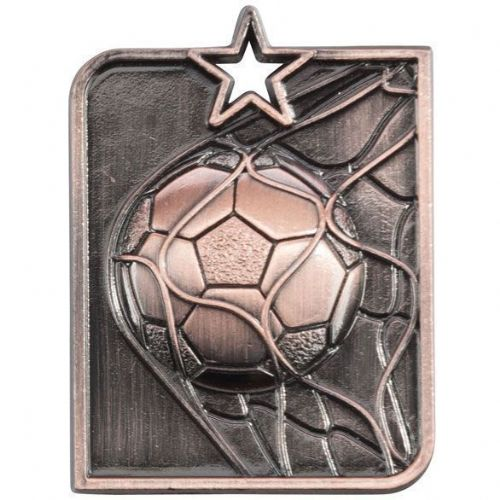 Centurion Star Series Football Medal Bronze 53x40mm